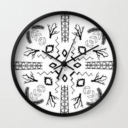 Organic Geometry Wall Clock