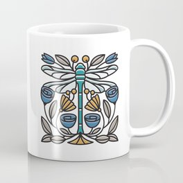 Dragonfly tile Coffee Mug