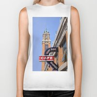 cleveland Biker Tanks featuring Cleveland West Side Market by TiffanyOneillPhotography