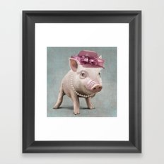 Miss Piggy Framed Art Print