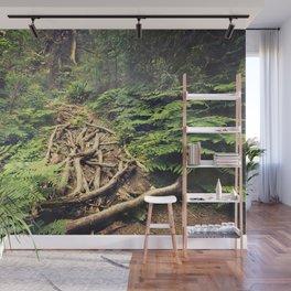 Misty Rainforest Wall Mural