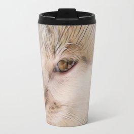 Lily Cat Travel Mug