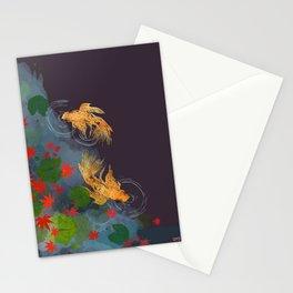 Momiji Pond Stationery Cards