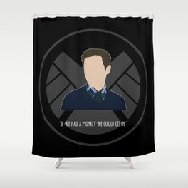 Agents of S.H.I.E.L.D. - Fitz Shower Curtain