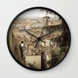 Lyon, France Wall Clock