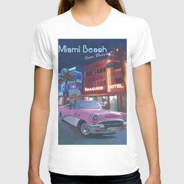 Key West Florida Southernmost Dreams Retro Travel Vintage Poster2 T-shirt