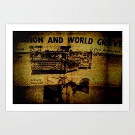 history Art Print
