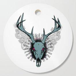 Deer skull Cutting Board