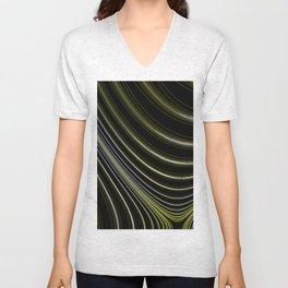 Fractal Curve Art Unisex V-Neck