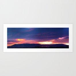 Grand Junction Sunrise Art Print
