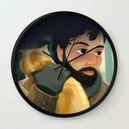 Llewyn Davis II Wall Clock