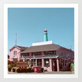 Harbour House Art Print