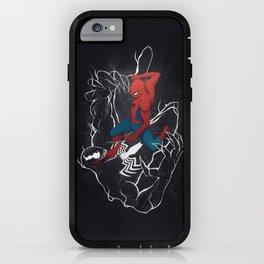 Spider-Man vs. Venom iPhone Case