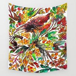 Cinnamon Dove Wall Tapestry