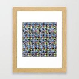 KHuck Collage 2 Framed Art Print
