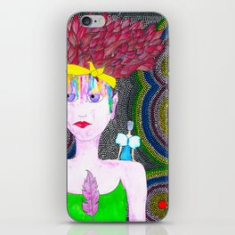 She Started To Know Herself iPhone Skin