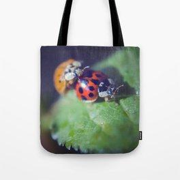 Lady Bug Love Tote Bag