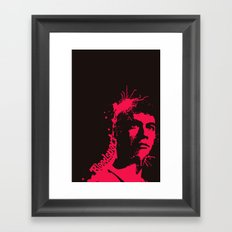 Bloodsport Minimal Film Poster Framed Art Print