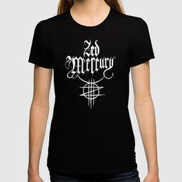 ZED MERCURY: PSYCHOPOMP LOGO - DARK! T-shirt