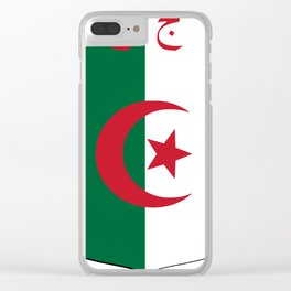 Coat_of_Arms_of_Algeria_(1962-1971) Clear iPhone Case