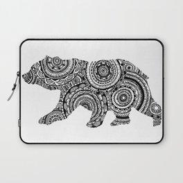 Mandala Bear Laptop Sleeve