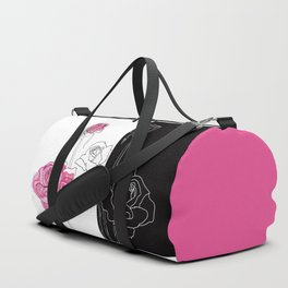 Roses - positive and negative Duffle Bag