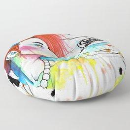 Lora Zombie Floor Pillow