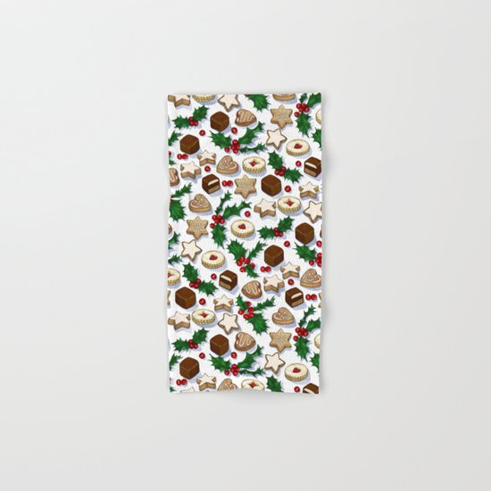 Christmas Treats and Cookies Hand & Bath Towel