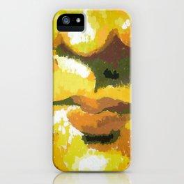 Mona's Smile iPhone Case