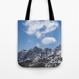 Mountain Clouds // Landscape Photography Tote Bag