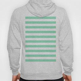 Stripes (Mint & White Pattern) Hoody