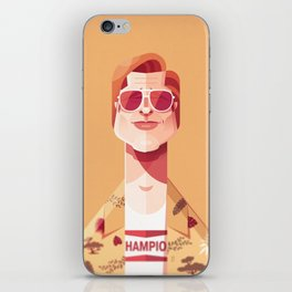Brad Pitt (Once upon a time in Hollywood). iPhone Skin