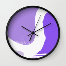 simple rusty I Wall Clock