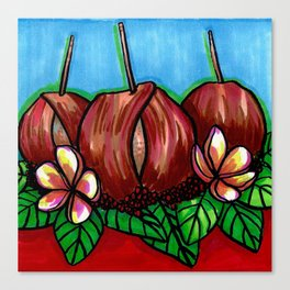 Bacon-wrapped Canvas Print