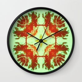 KALEIDOSCOPE IV Wall Clock