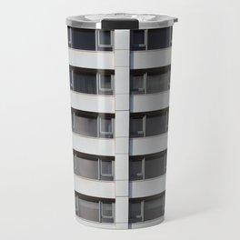 modern architecture - repeating Travel Mug