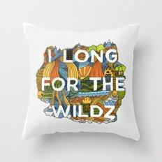 The Wildz Throw Pillow