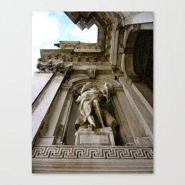 Upward (Venice, Italy) Canvas Print
