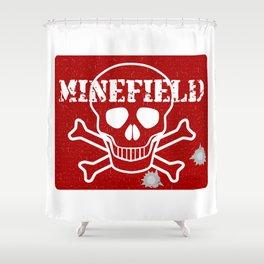 Minefield Shower Curtain