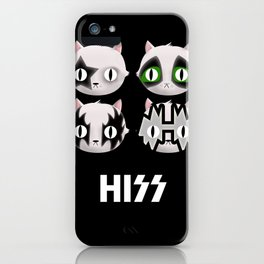 Hiss Cats - Makeup to Breakup iPhone Case