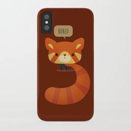 Little Furry Friends - Red Panda iPhone Case