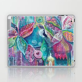 Sacred Temple and the Peacock King - Justine Aldersey-Williams 2012 Laptop & iPad Skin