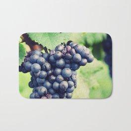 Red Wine Grapes II Bath Mat
