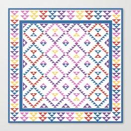 Bohemian Kilim Ethnic Pattern 2 Canvas Print
