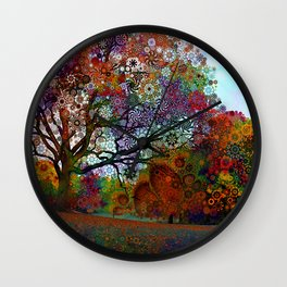 Afternoon Lght Wall Clock