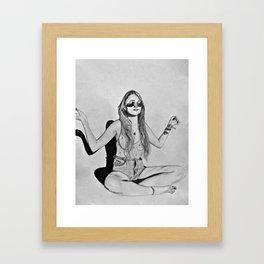 Dirty Hippy Framed Art Print