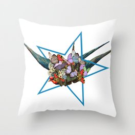 surrounding Throw Pillow