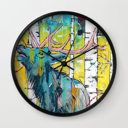 Those at the Forest Edge are Survivors of Winter Wall Clock