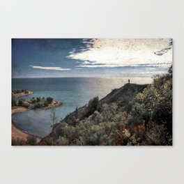 Lover's Lookout Canvas Print