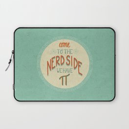 Come to the Nerd Side Laptop Sleeve